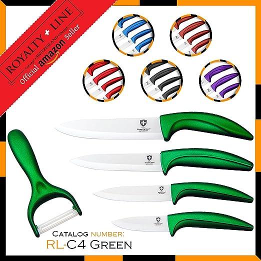 Compra Royalty Line RL-C4 Juego de cuchillos de cerámica 4 ...
