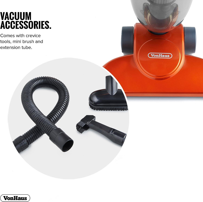 VonHaus 1000W 2-en-1 palillo vertical y dispositivo aspirador con filtro HEPA y la esponja de filtración y para hendiduras GRATIS - Free Garantía de 2 años (Producto con enchufe de UK): Amazon.es: