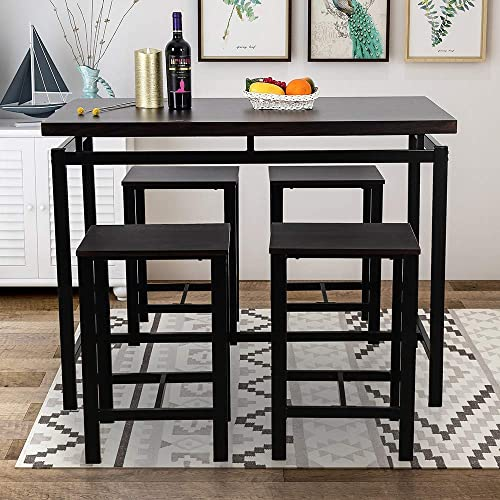 5 Pieces Dining Table Set