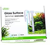 ISTA Glass Outflow & Inflow Lily Water Pipe for Aquarium Plant Filter,Tube Hose (12mm or 16mm) (Surface Oil Protein Skimmer 16/22mm) by Aquarium Equip