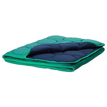 ZigZag Trading Ltd IKEA PS 2017 - Saco de Dormir Verde/Azul Oscuro: Amazon.es: Hogar