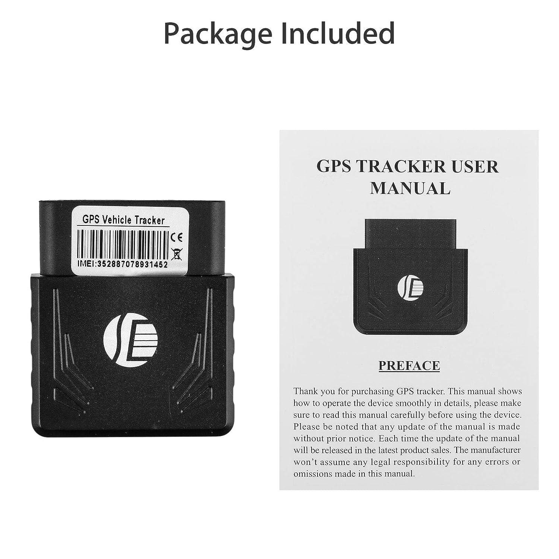 Amazon com: EEEKit Car GPS Tracker, GPS/GSM/GPRS Tracking System