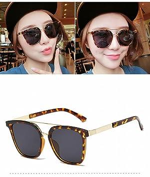 Große Rahmen Sonnenbrille Mode Unisex Sonnenbrille Tonerpulver Kirschpulver UTUjagZm
