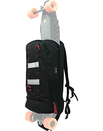 d079902f4fbf Hubro Designs Boosted Board Longboard Backpack - 20L Backpack with Electric  Skateboard Carry Panel