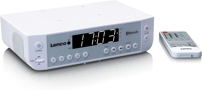 Lenco Kcr 100 Weiß Lenco Kcr 100 Weiß Küchenradio Mit Bluetooth Weiß Heimkino Tv Video