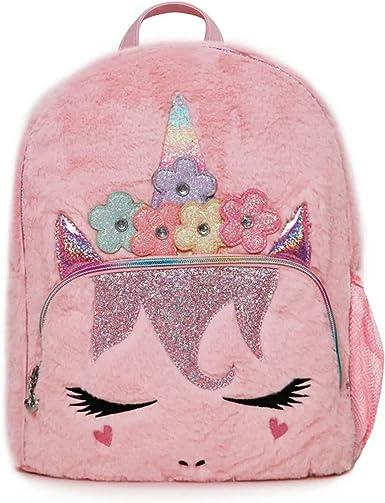 OMG Accessories Pink Mini Backpack Girls Unicorn Gwen Bag
