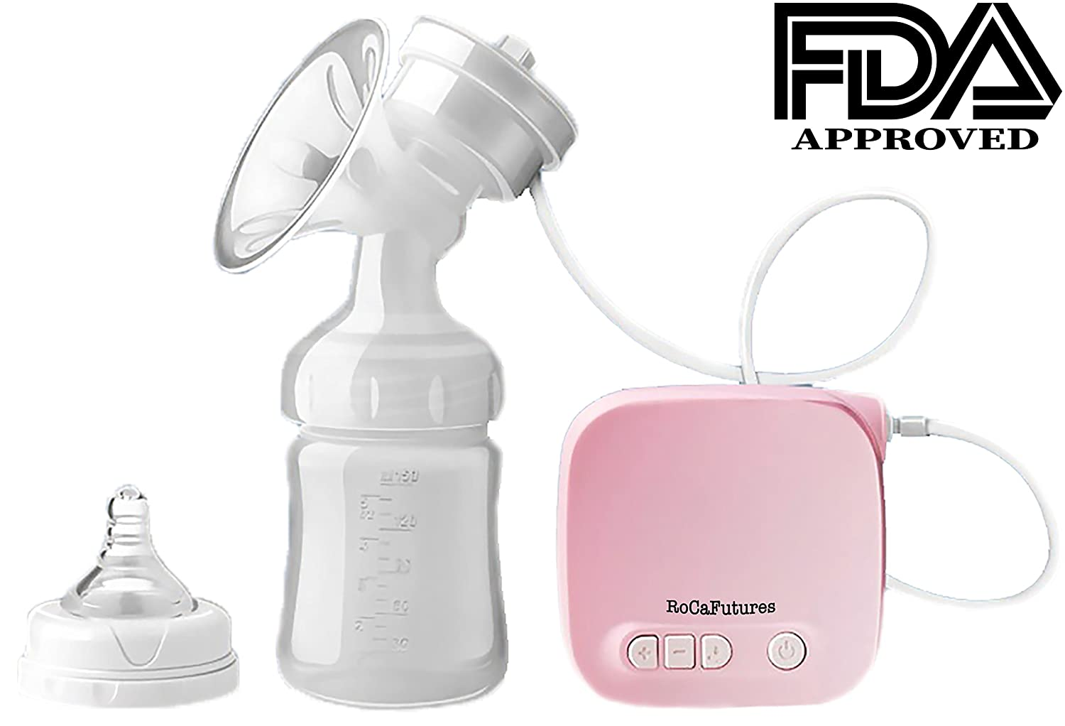 Portable Electric Breast Pump - Compact, Easy to Operate Single Pump for travel. Multiple Settings for Comfort & Effective Milk Flow. USB Powered, Ultra-Light, Ideal for Travel Guangzhou Dadious Baby Co. Ltd