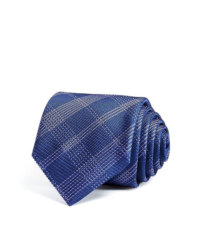 Hugo Boss Boss Corbata de seda para hombre, color morado: Amazon ...