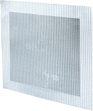 Prime Line U 9286 Drywall Repair Patch 12 In X 12 In Galvanized With Adhesive Backed Mesh Amazon Com