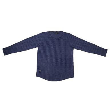 Philipp Plein Men s Denim T-Shirt (U0293-Xl Blue)  Amazon.in ... 2b02cfbd97