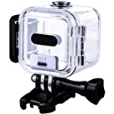 Tpfocus 40m Underwater Waterproof Protective Housing Case and Lens Cap Cover for GoPro HERO4 Session
