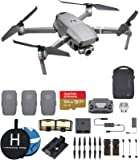 DJI Mavic 2 Zoom Fly More Combo Deluxe Bundle, 3 Batteries, Charging Hub, Extra Landing Pad and Extreme microSDXC Card