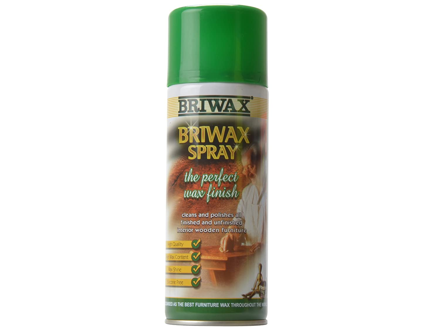 Briwax 400ml Spray Wax Aerosol BRWSW400 B001C43Z5A