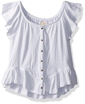 b1a81d20f09 Amazon.com  O Neill Girls  Big Farryn Off The Shoulder Knit Top ...