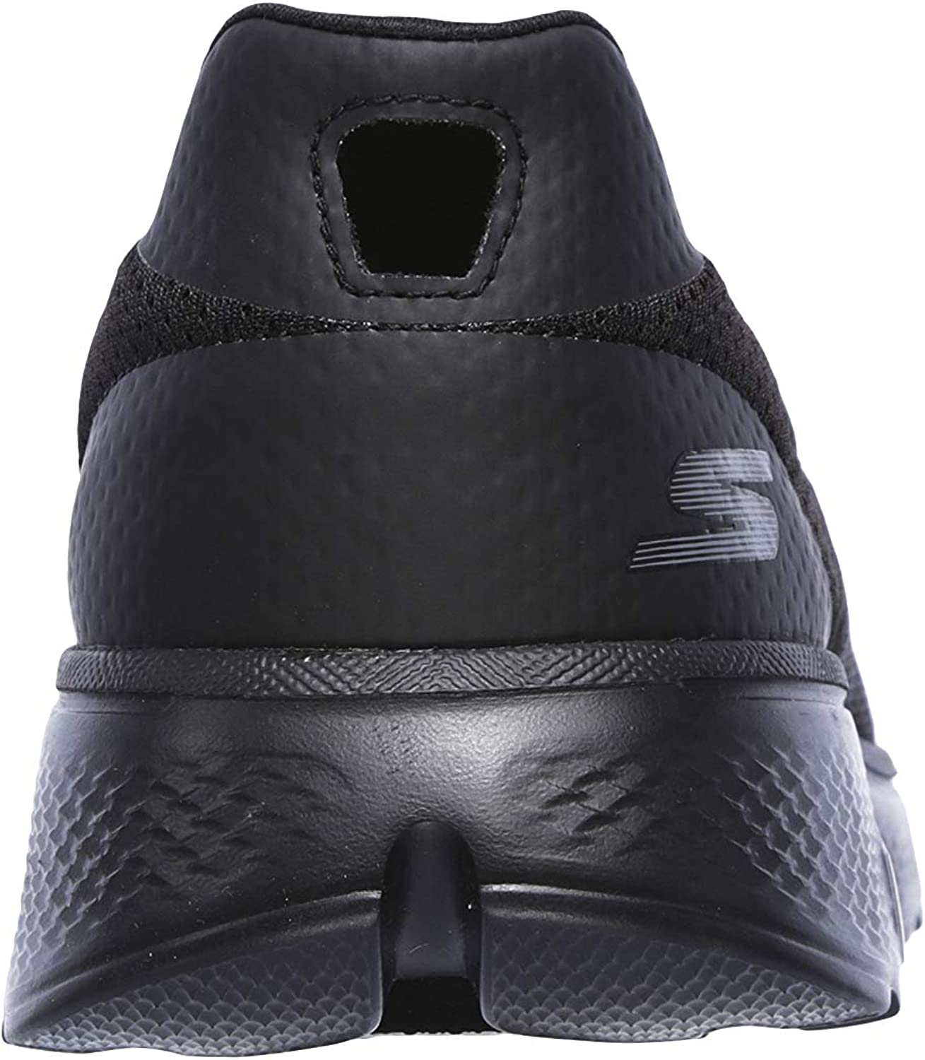 Skechers Go Walk 4, Baskets Basses Homme Black Bbk