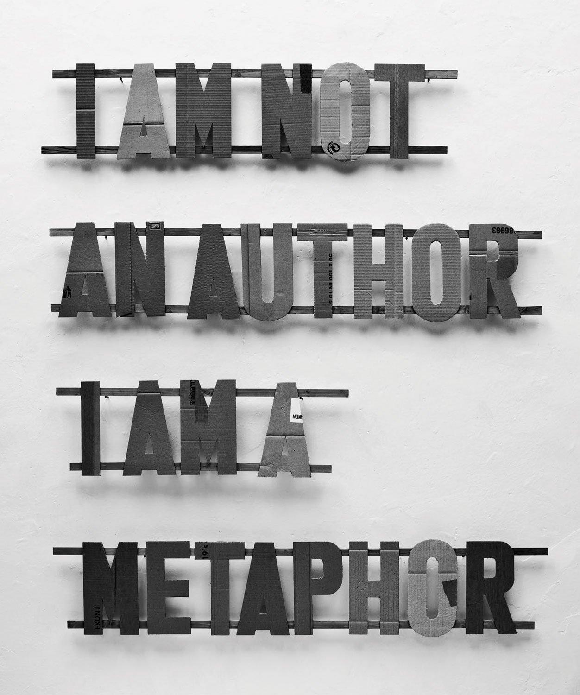 Download I Am Not an Author, I Am a Metaphor ebook