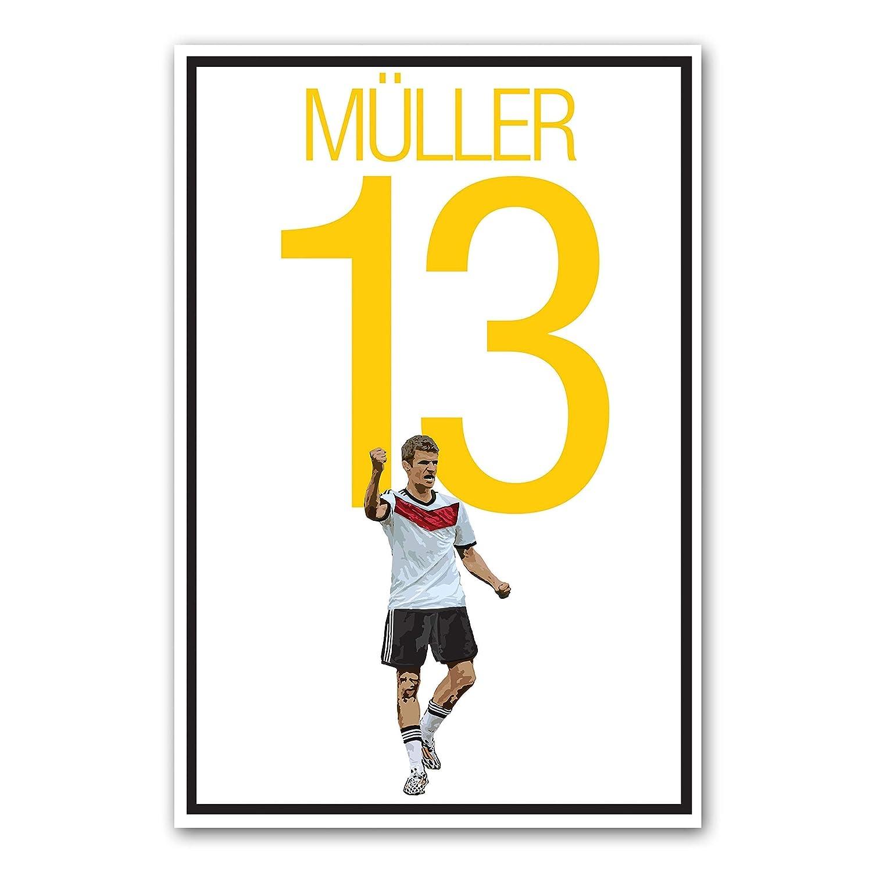 Amazon.com: Thomas Muller Poster - German Soccer Art: Handmade