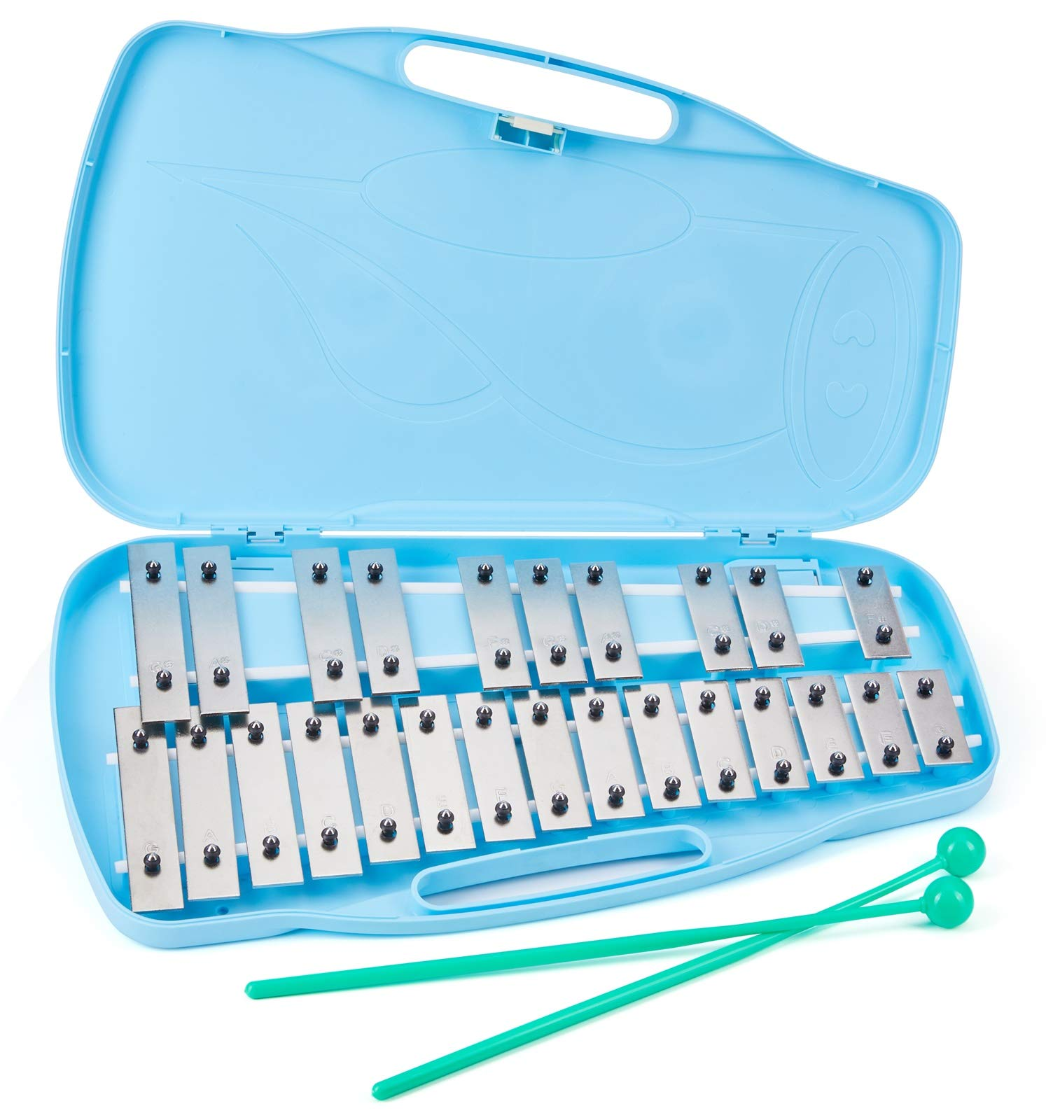 Silverstar Professional Glockenspiel 25 note Xylophone kids musical instrument Percussion instruments Xylophone Instruments by Silverstar