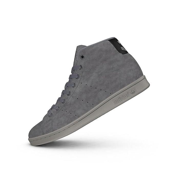 new concept 651c2 c40af adidas Stan Smith Mid BZ0651, Scarpe da Fitness Uomo, Grigio Gritre Gricin,  36 2 3 EU  Amazon.it  Scarpe e borse