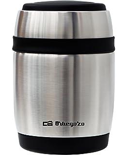 Orbegozo TRSL 380 - Termo para sólido y líquido, capacidad 380 ml, acero inoxidable