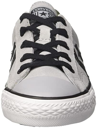 4206bb155 Converse Star Player Ox Wolf Grey Black White