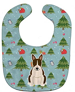 Caroline's Treasures Christmas Baby Bib, Appenzeller Sennenhund, Large
