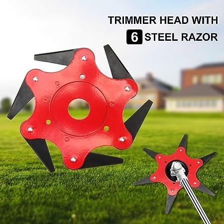 New  3 Teeth Brush Cutter Brushcutter Trimmer Blade Strimmer Lawn Mower Kit Sale