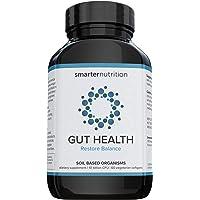 Smarter Gut Health Probiotics - Superior Digestive & Immune Support from 100% Soil-Based Probiotic - Includes Premium…