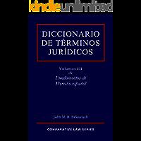 Diccionario de Términos Jurídicos (Fundamentos de Derecho español nº 3)