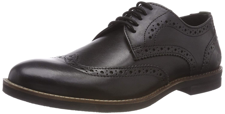 Kickers Eldys, Zapatos de Cordones Derby para Hombre