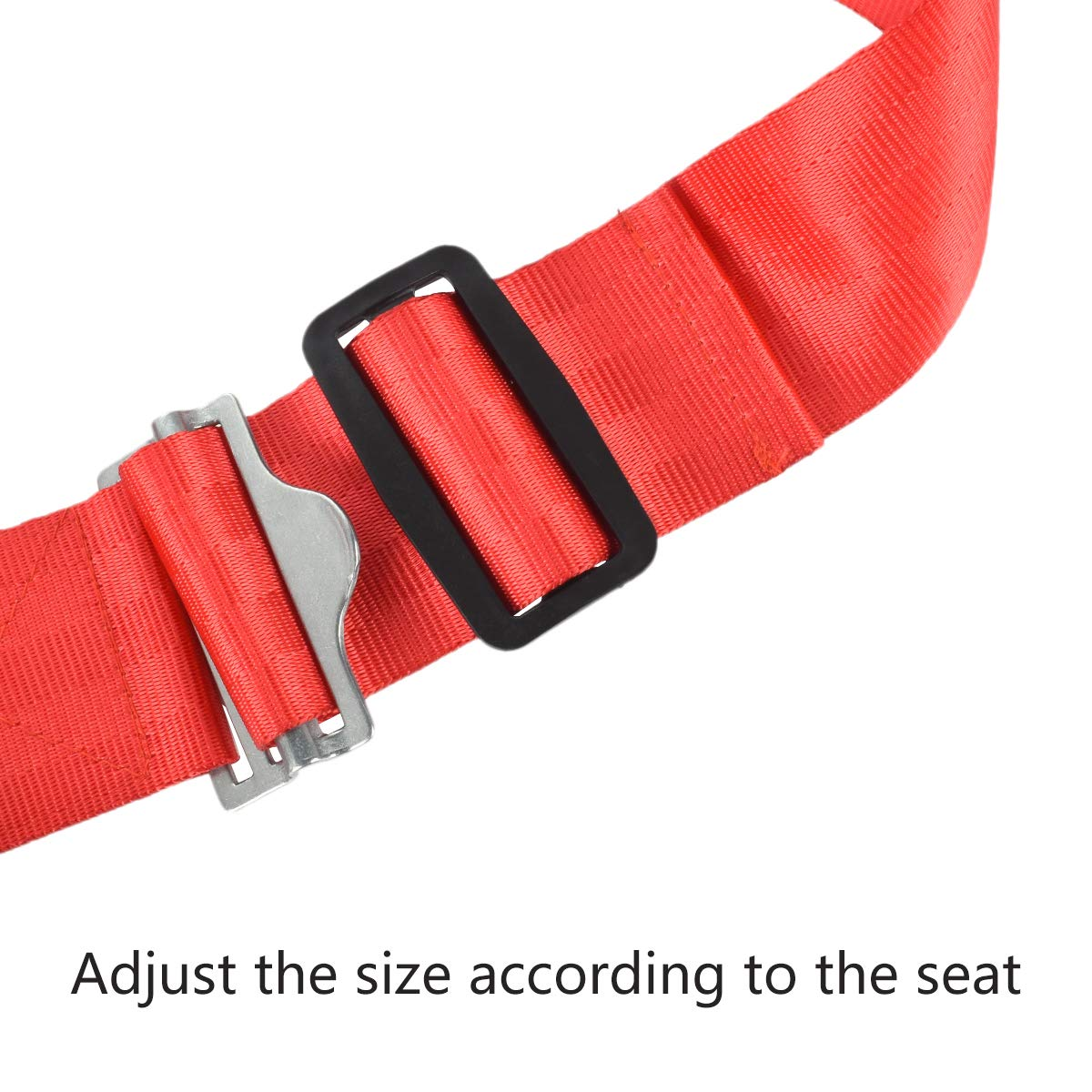 Ansblue Child Safety Harness Airplane Travel Clip Strap with Carry Pouch Bag.The Travel Harness Safety System Will Protect Your Child from Dangerous - 1pcs by Ansblue (Image #4)