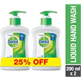 Dettol Original Anti-bacterial Liquid Hand Wash 200ml Twin Pack
