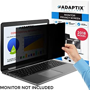 "Laptop Privacy Screen 14"" – Information Protection Privacy Filter for Laptop – Anti-Glare, Anti-Scratch, Blocks 96% UV – Matte or Gloss Finish Privacy Screen Protector – 16:9 by Adaptix (APS14.0W)"