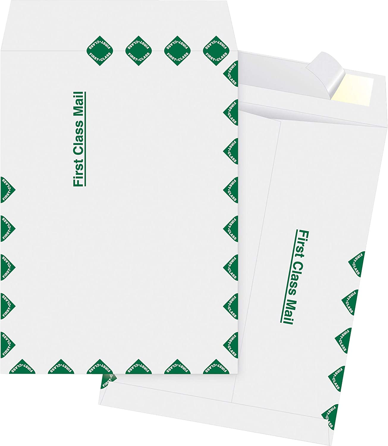 Amazon Com Business Source Dupont Tyvek 1st Class Envelopes 12 X 15 5 Inch Office Products