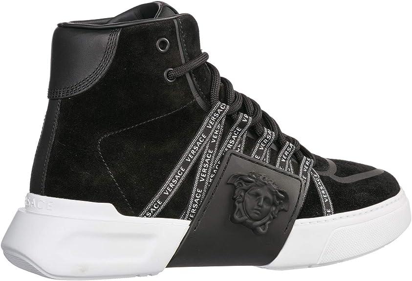 Versus Versace Homme Basket Nero: : Chaussures et Sacs
