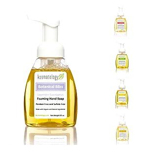 Kosmatology Botanical Bliss (Lavender-Eucalyptus) Organic Foaming Hand Soap, 8.5 fl oz