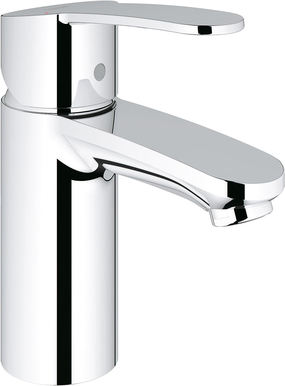Grohe Eurostyle Cosmopolitan Centerset Single-Handle Single-Hole Low Arc Bathroom Faucet - 1.5 GPM