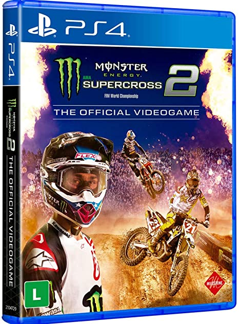 Jogo Monster Energy Supercross - The Official Videogame 2 - Playstation 4 - Milestone