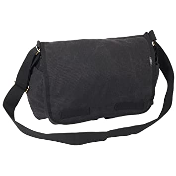 Image Unavailable. Image not available for. Color  Everest Luggage Canvas  Messenger ... 4495fd69e7a7e