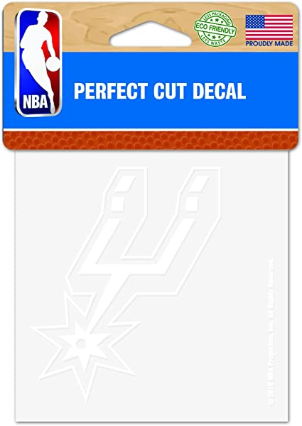 Rico Industries NBA San Antonio Spurs Decal Team Color One Size Team Colors