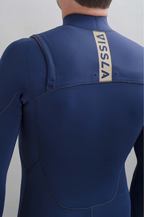 b06cba2398 Vissla - Surfing Wetsuit Neoprene 4 3 Full Mens Seven Seas 4 3 CZ - Size   One Size