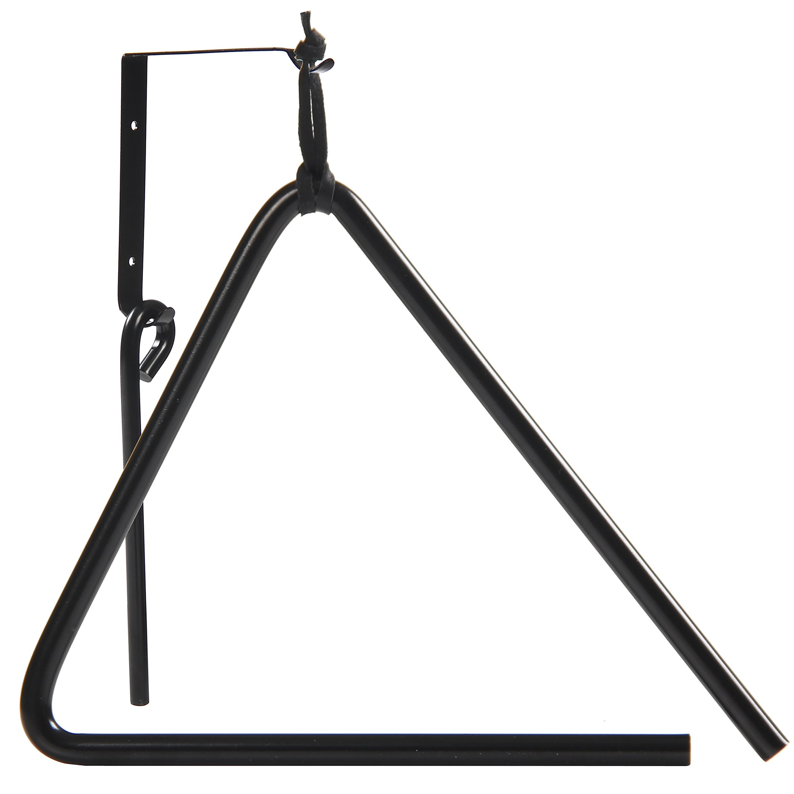 Triangle Dinner Bell made of Chuckwagon Cast Iron - Includes Medal Hanger and Call Striker by Upstreet