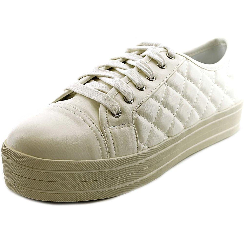 Steve Madden Elixer Women's White Fashion Sneakers US9 by Steve Madden