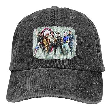 Sbbiegen886wo Men Women FashionVintage Village People 70s Disco Funk Band  Old School Music Worn Look Adult Cowboy Hat Black at Amazon Women s  Clothing store ... 0792a62735f