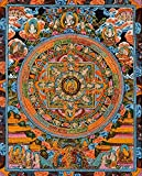 The Buddha Mandala -Tibetan Buddhist - Tibetan Thangka Painting
