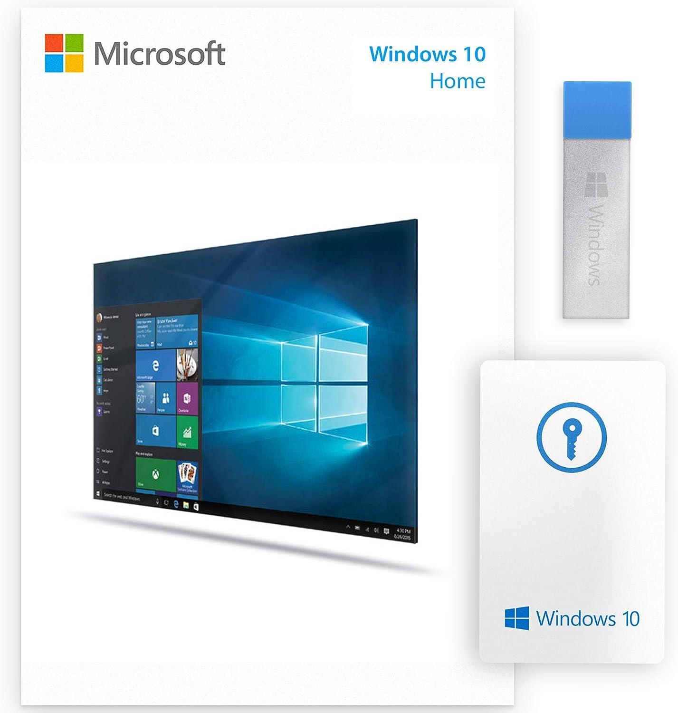 Wind?ws 10 Home USB 64 32 bit USB Flash Drive English Language Full Product NEW