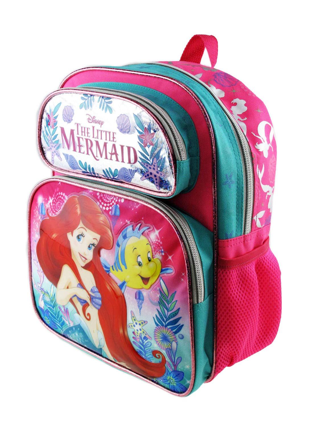 Disney Seashore 12 New 009045 The Little Mermaid Small Backpack