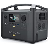 EcoFlow River600 PRO Portable Power Station Solar Generator, 720Wh Battery,Fast Charge, Fully Charge in 1.6 Hours…