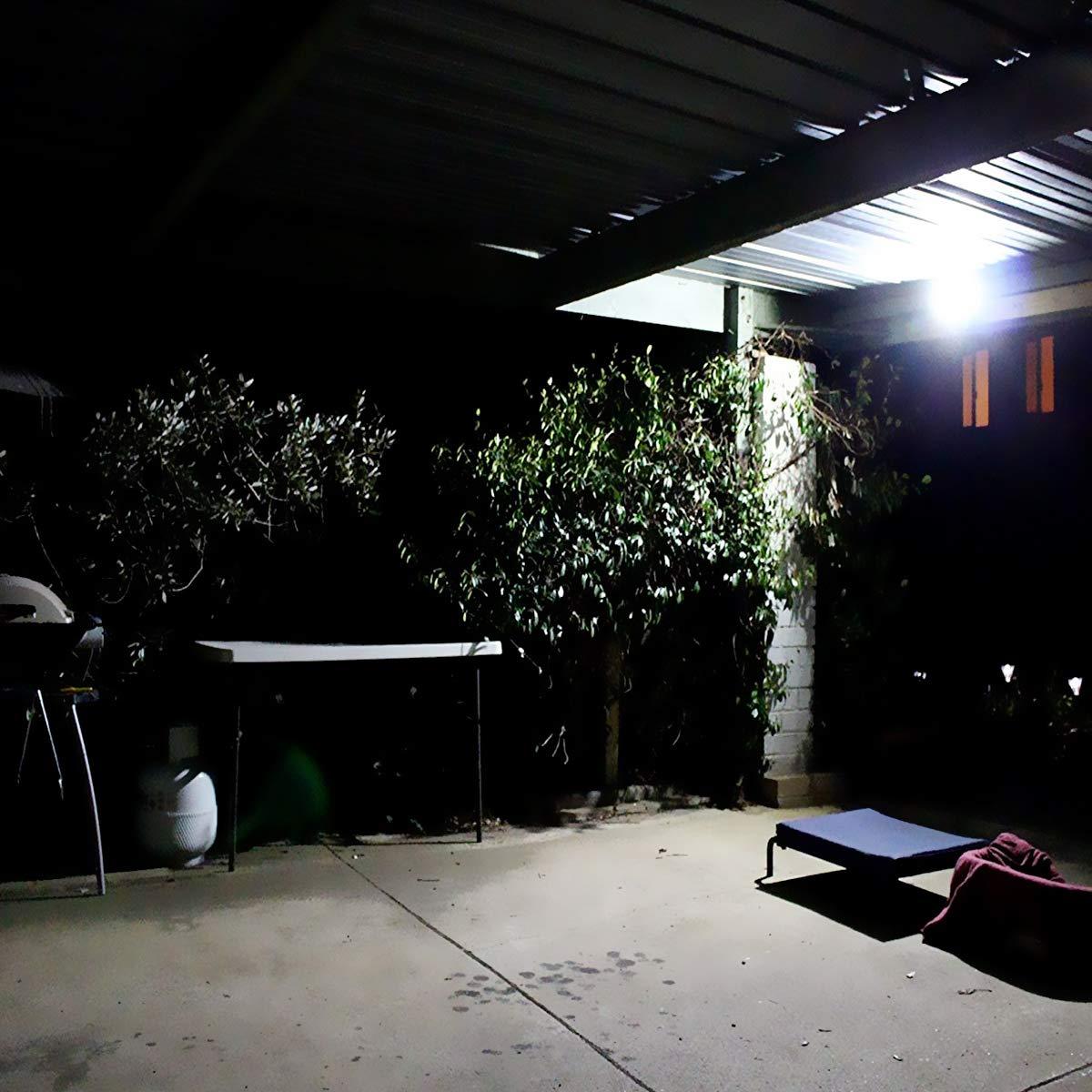 hotel 4000 l/úmenes adecuado para jard/ín patio garaje LE Foco LED  de 50 W IP65 resistente al agua luz blanca fr/ía 5000 Kelvin etc.