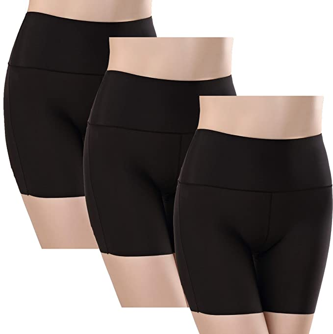 e35c2c22ba4c TRISTIN Women Flawlessly Smooth Boxer Soft Yoga Boyshorts ...